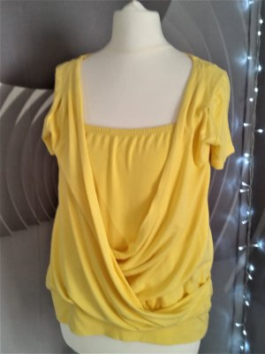 Top extra-large jaune