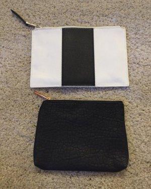 H&M Mini Bag black-white