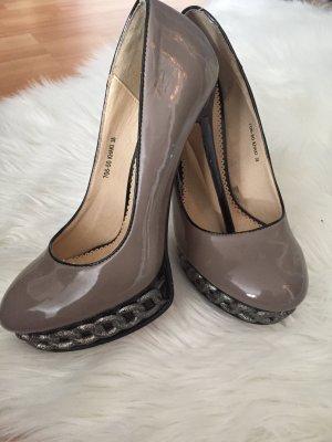 Jumex Tacco alto marrone-grigio