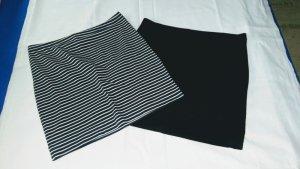 Zwei Mini Baumwoll Röcke Gr 36