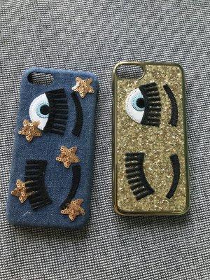 Zwei Paar Chiara Ferragni Iphone Hüllen
