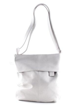 Zwei Shoulder Bag light grey casual look