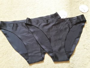 Zwei schwarze schlichte Slips