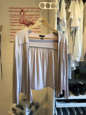 H&M Cardigan tricotés blanc cassé-rosé