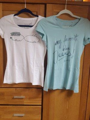 Zwei T-Shirts von Mustang