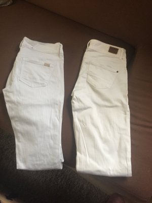 Zwei tolle Jeans in weiß