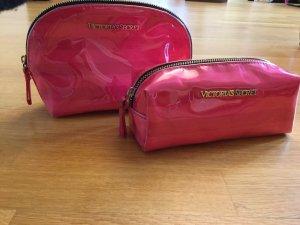 Zwei Victoria's Secret Kosmetiktaschen in Pink