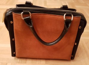Zara Carry Bag black-cognac-coloured