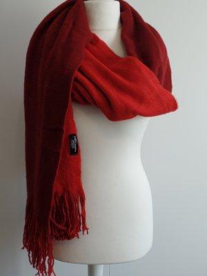 zweifarbiger Wendeschal von Zara in rot