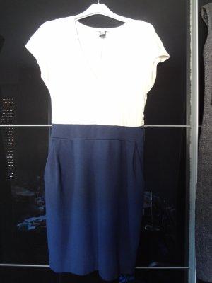 Zweifarbiges Blusenkleid Gr. XS