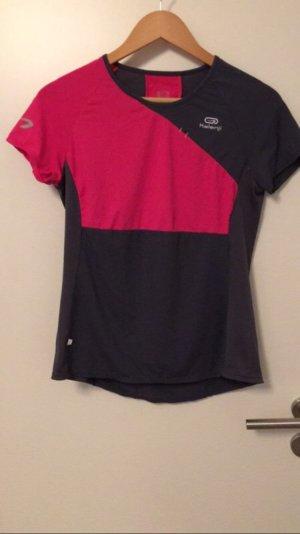 Zweifarbiges Sportshirt