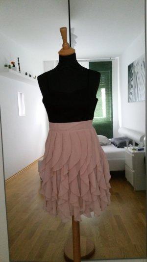 Zweifarbiges Trägerkleid