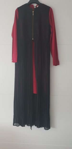 Casacca nero-rosso scuro