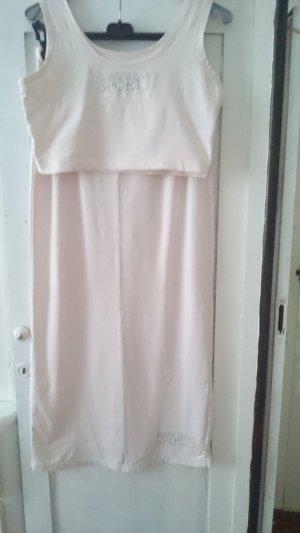 Bandolera Maxi gonna argento-rosa pallido