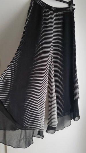 Broekrok wit-zwart Polyester