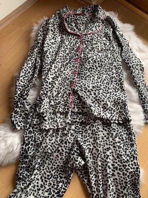 Zweiteiliger Pyjama mit Animalprint