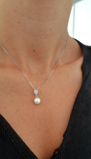 Zweiteiliges(2) Set Schmucktraum Perlenkette und Perlenohrringe! NEU MIT ETIKETT