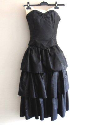 Zweiteiliges Abendkleid: Corsage & Stufenrock, Gr. 34/36, auch einzeln zu tragen