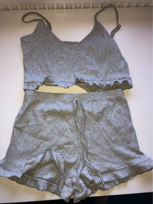 SheIn Knitted Twin Set light grey