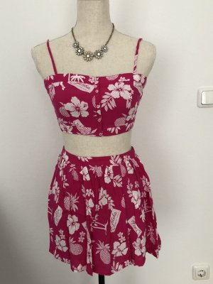 Zweiteiliges Set, rosa, Hollister, neu
