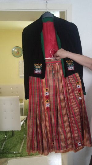 Zweiteiliges Trachtenkleid v. Helene Strasser
