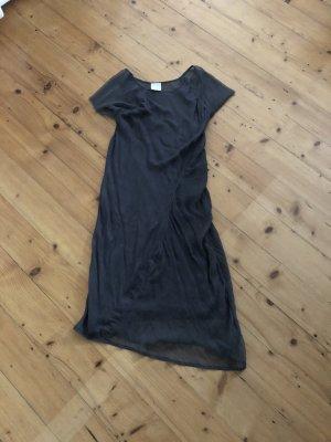Zweiteliges dunkelgraues Kleid von Asos white Gr. UK 14