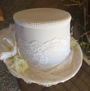 Hoge hoed wit
