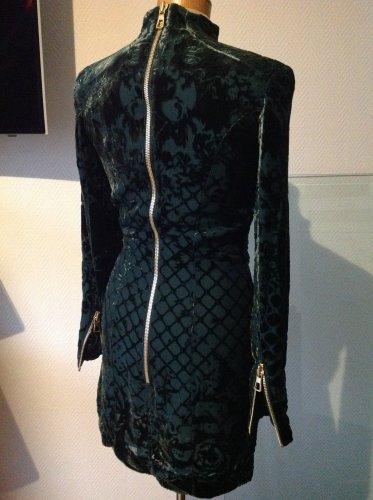 Balmain X H&M - grünes Samtkleid - neu Gr. 36 ...