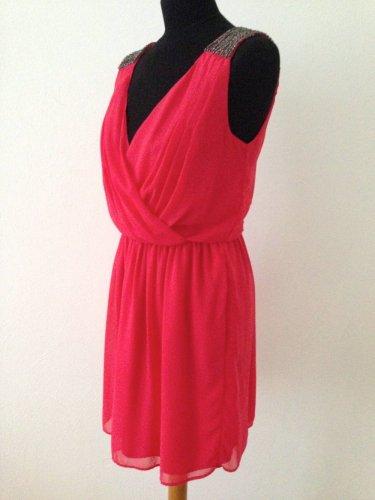 Kurzes Kleid von Zara , Gr. M (38), mit Perlen& Pailletten ...