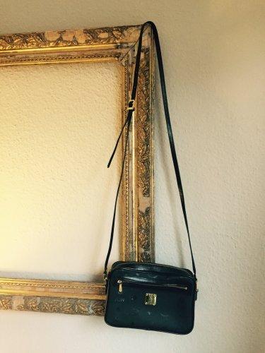 mcm tasche handtasche klassiker blogger schwarz gold clutch umh ngetasche m dchenflohmarkt. Black Bedroom Furniture Sets. Home Design Ideas