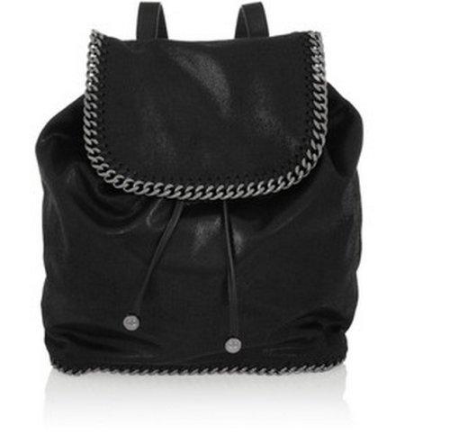 stella mccartney falabella rucksack in schwarz tasche m dchenflohmarkt. Black Bedroom Furniture Sets. Home Design Ideas