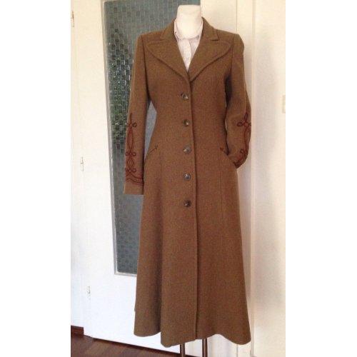 ralph lauren wintermantel mantel wolle braun meliert 36 38 m dchenflohmarkt. Black Bedroom Furniture Sets. Home Design Ideas