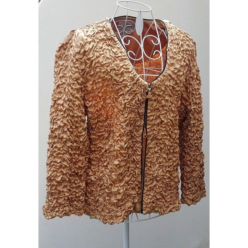 "☸ڿڰۣ - edler Designer Blazer ... Zip Up Jacket von ""Joseph Ribkoff"" Gr.44/46 N.P. 289,- € - wie neu -"