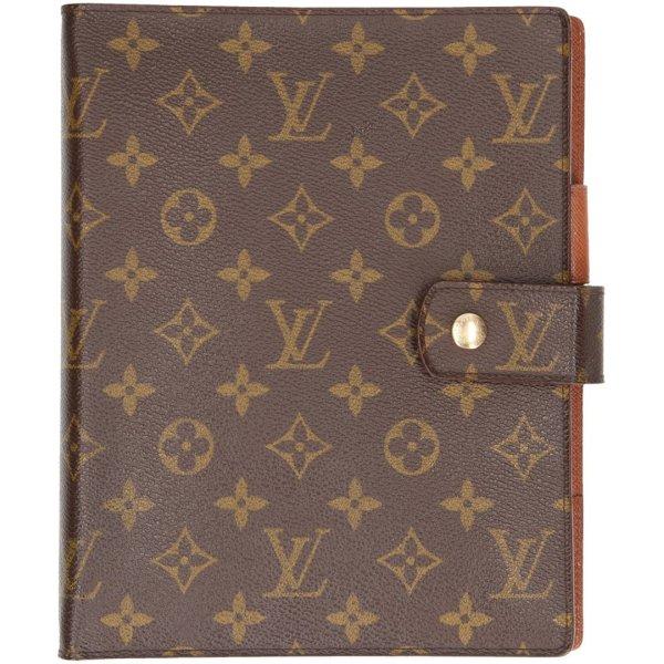 0009 Louis Vuitton Agenda Fonctionnel GM aus Monogram Canvas