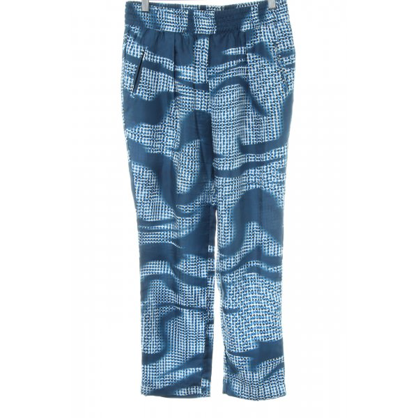 0039 Italy Culottes abstraktes Muster Party-Look