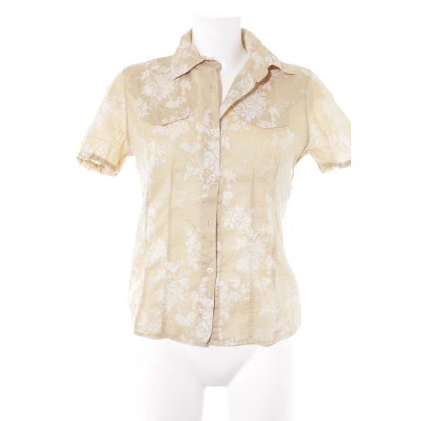 0039 Italy Hawaiihemd creme-weiß Casual-Look