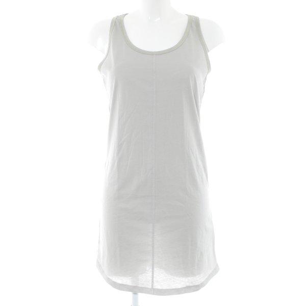 10 Days Shirtkleid hellgrau Casual-Look