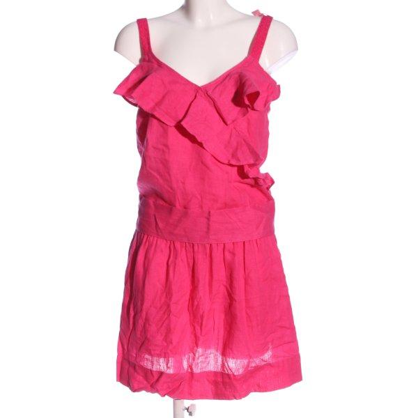 120% Lino Trägerkleid pink Casual-Look