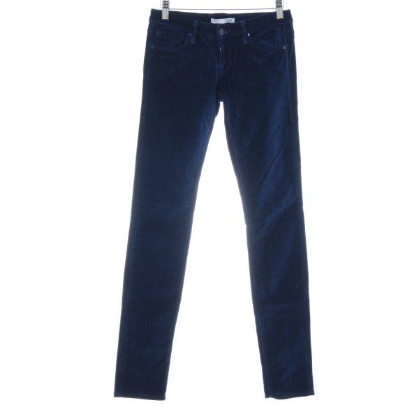 """1921 Stretch broek """"Jenny"""" donkerblauw"""