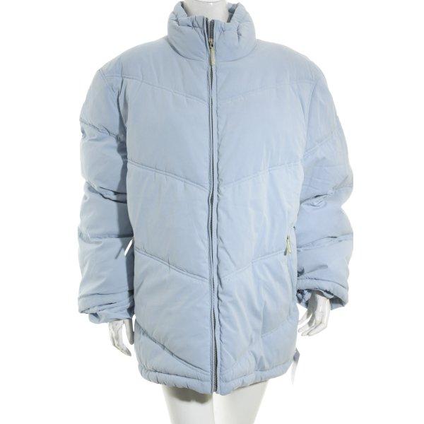 1st B Veste d'hiver bleu azur style décontracté