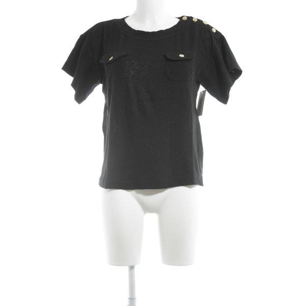 3.1 Phillip Lim Knitted Jumper black-gold-colored elegant