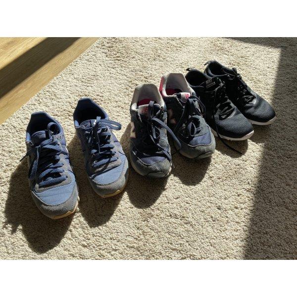 3 Paar Sneaker Nike New Balance