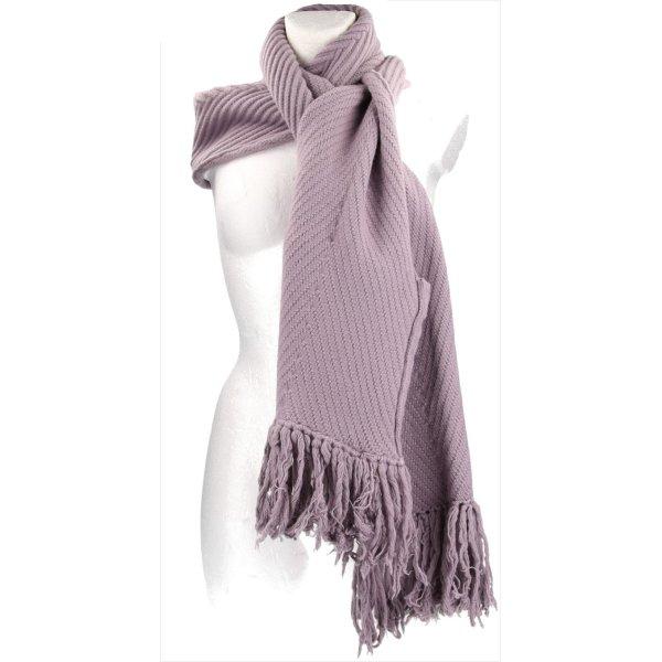 34075 Louis Vuitton XXL Schal aus Wolle und Kaschmir in Flieder Lila