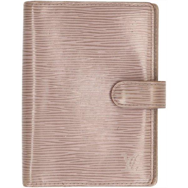 35802 Louis Vuitton Agenda Fonctionnel PM aus Epi Leder in Lilac
