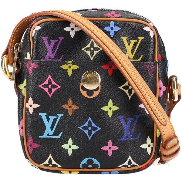 36455 Louis Vuitton Rift Umhängetasche aus Monogram Multicolore Canvas, Handtasche, Umhängetasche