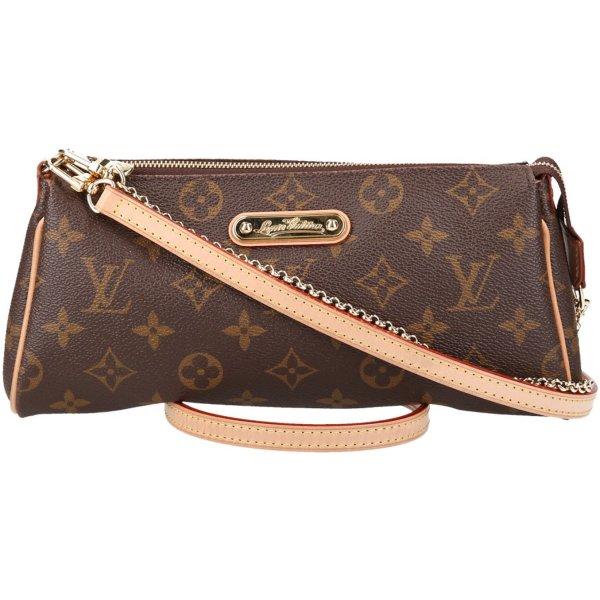 36459 Louis Vuitton Pochette Eva Monogram Canvas Tasche, Handtasche