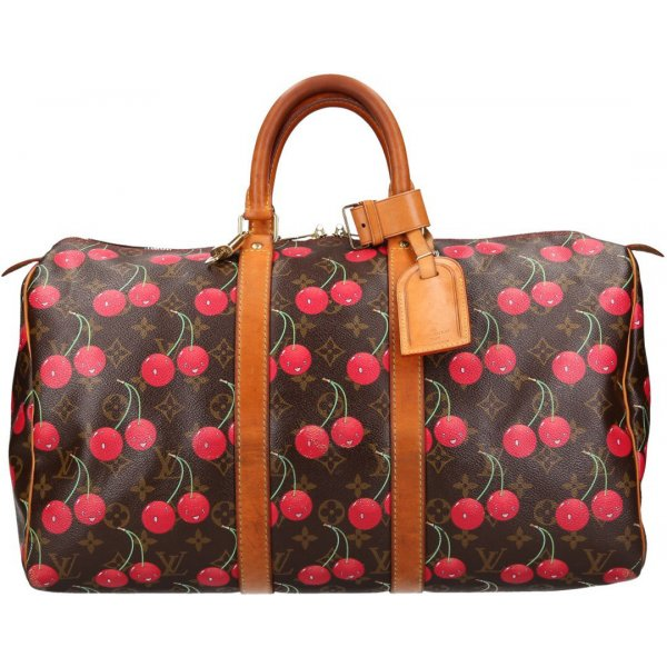 36629 Louis Vuitton Keepall 45 Monogram Cerieses Canvas Reisetasche, Weekender