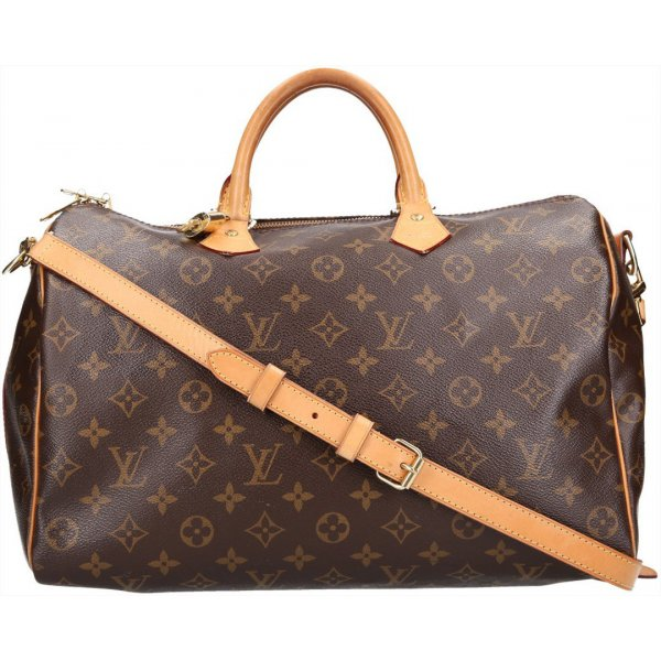 36654 Louis Vuitton Speedy 35 Monogram Canvas Handtasche, Henkeltasche