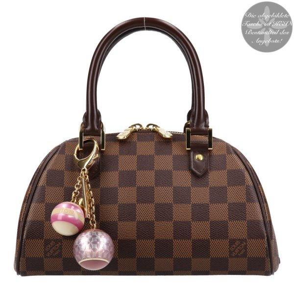 36744 Louis Vuitton Taschenschmuck, Anhänger aus Kunstharz und Metall mit Box
