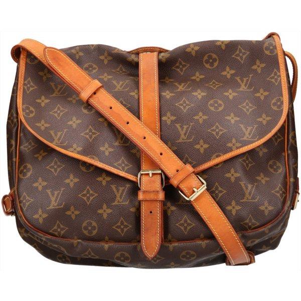 36838 Louis Vuitton Saumur 35 Monogram Canvas Handtasche, Umhängetasche, Tasche